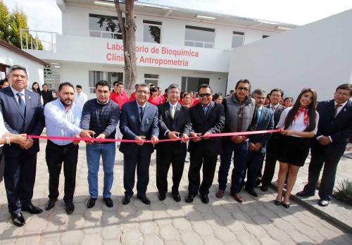 Inauguró campus Calpulalpan de la UAT laboratorio de Bioquímica Clínica y Antropometría